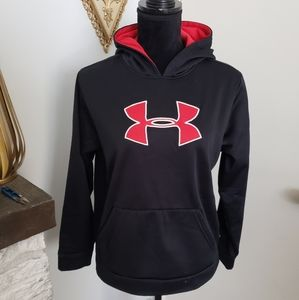 Under Armor black and red sweatshirt. Youth XL